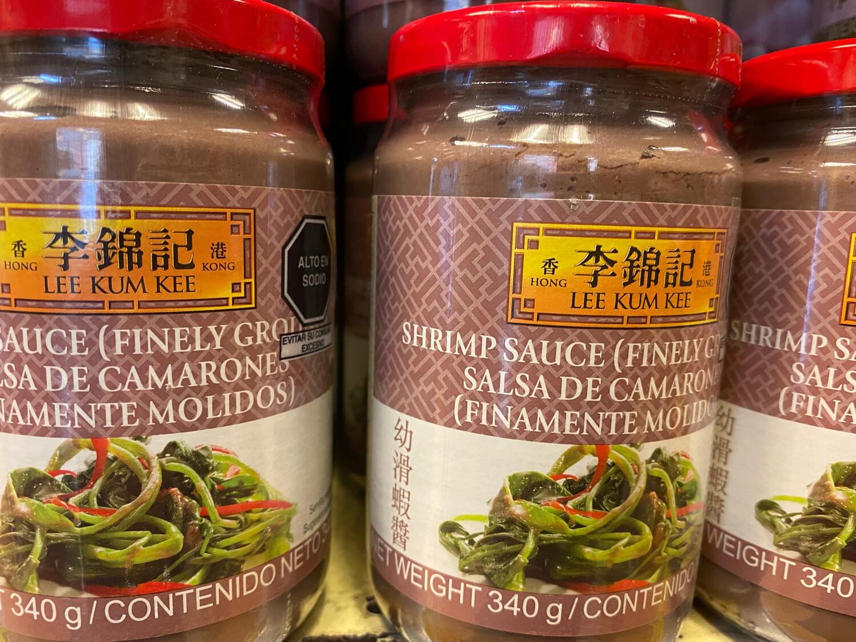 Lkk salsa de camarón finamente molido x(340)