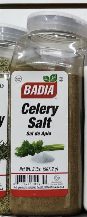 Badia sal de apio x 907,2 gramos