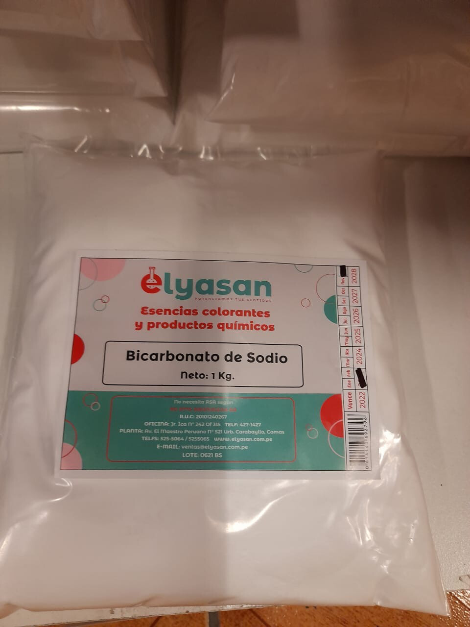 Bicarbonato x kilo
