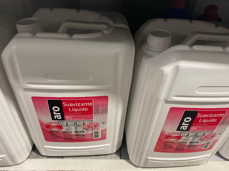 Suavizante liquido x 20 litros