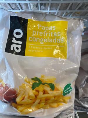 Papas pre fritas aro x 1 kilo