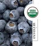 Arandanos Organicos certificación USDA x 1/2 kG