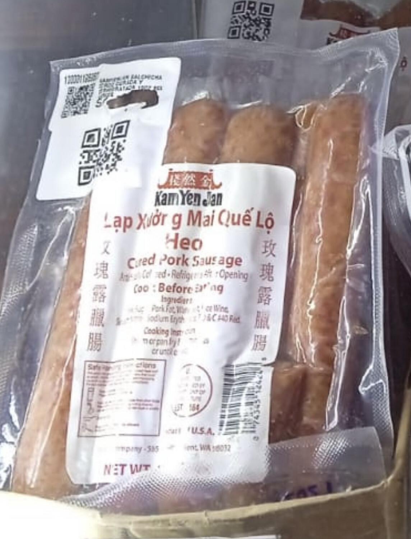 Kamyenjan salchicha de cerdo curada deshidratada 16oz importada