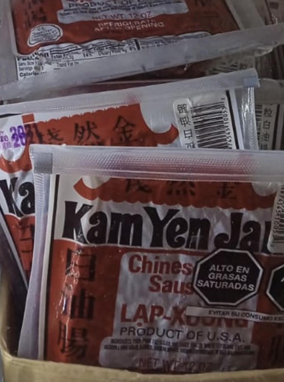 Kamyenjan Salchicha de cerdo picada importada x 12 Oz