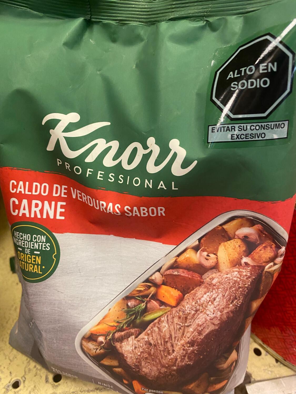 Caldo carne Knorr x 750 gr.