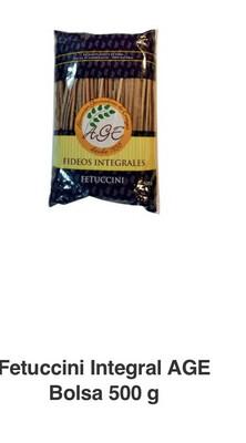 Fettuccini integral x 1/2 kilo age