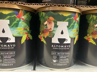 Cafe altomayo Gourmet soluble x 200 gramos