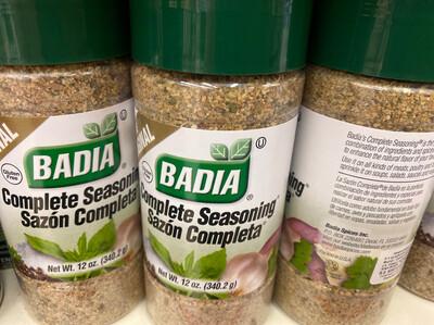Badia sazon completa x 340 gramos