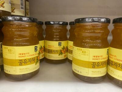 Macerado de Miel con kion y citrón x 480 gramos