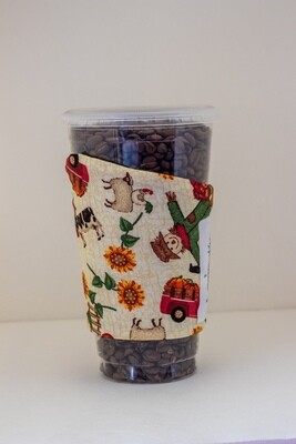Harvest Haul Pumpkin Coffee Sleeve