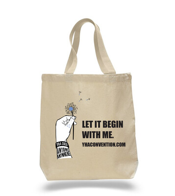 Let It Begin With Me - Cotton Tote