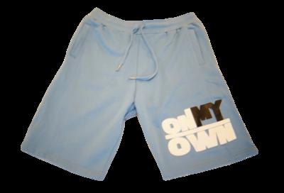 Baby Blue OnMyOwn Shorts