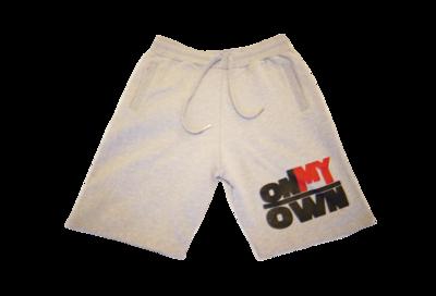 Grey OnMyOwn Shorts
