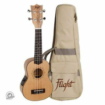Flight: DUS320CEQ Soprano Electro-Acoustic Ukulele