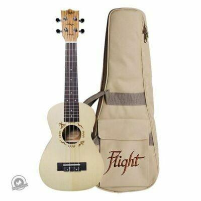 Flight: DUC325 Concert Ukulele (With Bag)
