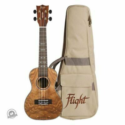 Flight: DUC410 Concert Ukulele -Quilted (With Bag)