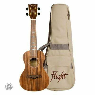 Flight: DUC440 Concert Ukulele - Satin Koa (With Bag)