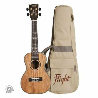 Flight: DUC450 Mango-Wood Concert Ukulele With Bag (With Bag)