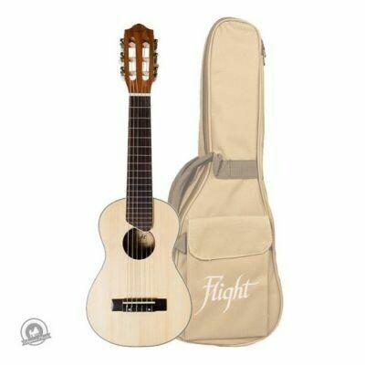 Flight: GUT350 Guitarlele - Natural (With Bag)