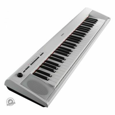 Yamaha NP-12 Piaggero Slimline Home Keyboard (In White Finish)