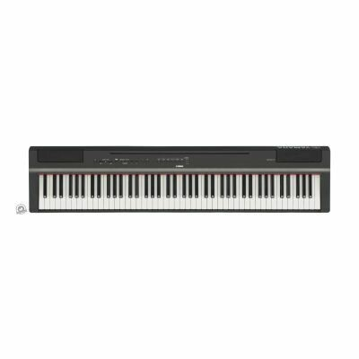 Yamaha P-125 Portable Digital Piano (In Black Finish)