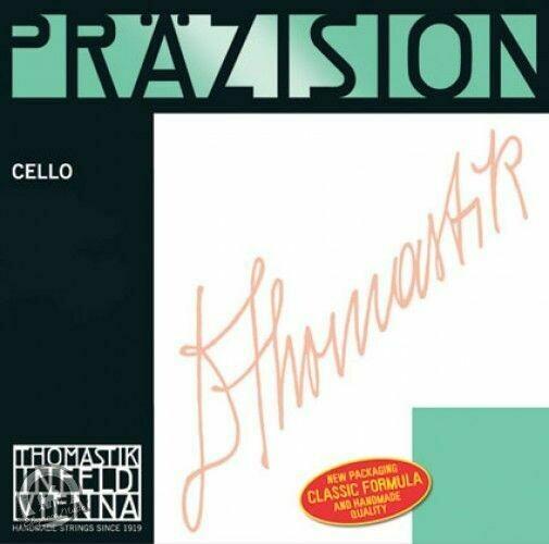 Precision Cello C. Steel Core, Chrome 4/4 - Weak