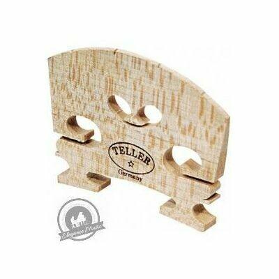 Violin Bridge - Aubert Model. Shaped and Fitted. 3/4