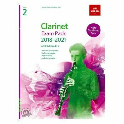 ABRSM Clarinet Exam Pack Grade 2 2018-2021