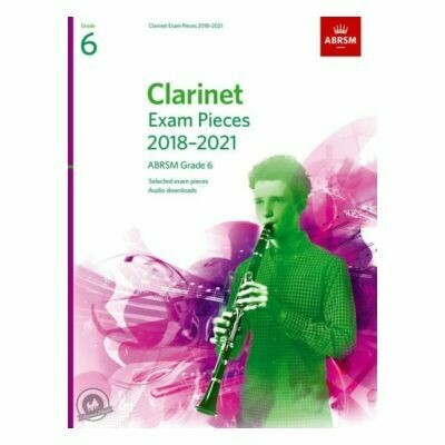 ABRSM Clarinet Exam Pieces Grade 6 2018-2021