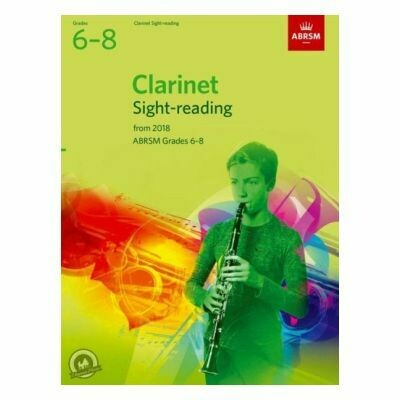 ABRSM Clarinet Sight-Reading Tests Grades 6-8 (From 2018)