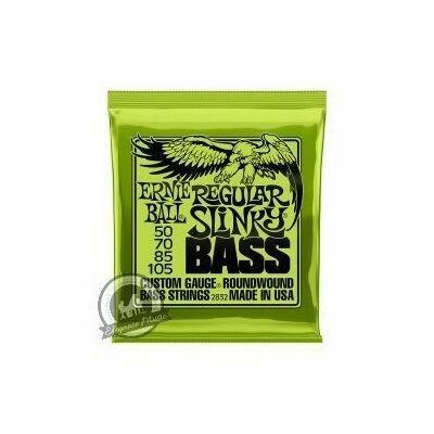 Ernie Ball Regular Slinky Bass Guitar Strings (Set)