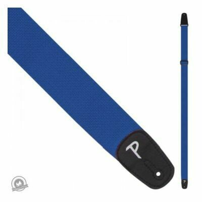 Perri's Polyester Pro Guitar Strap - Blue
