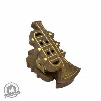 Wooden Music Clip - Trumpet