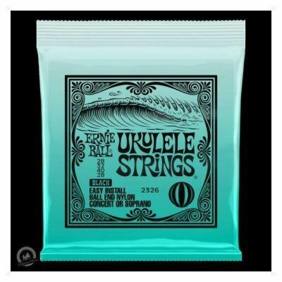 Ernie Ball Ukulele Strings Black (Ball end)