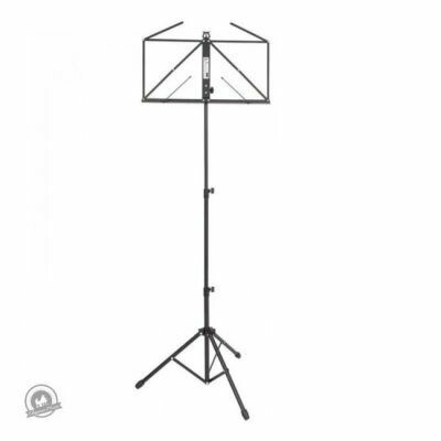 Kinsman Deluxe Music Stand with Bag Black