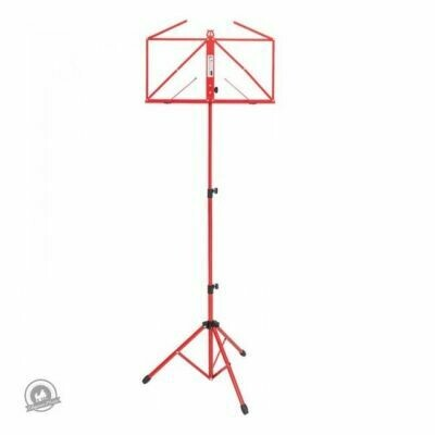 Kinsman Deluxe Music Stand with Bag Red