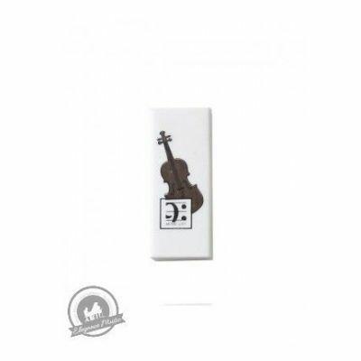 Violin Design Eraser