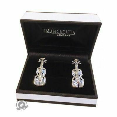 Cufflinks Violin