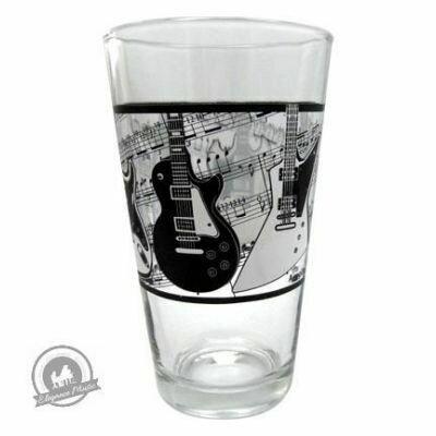 Glass Tumbler - Electric Guitars/Music