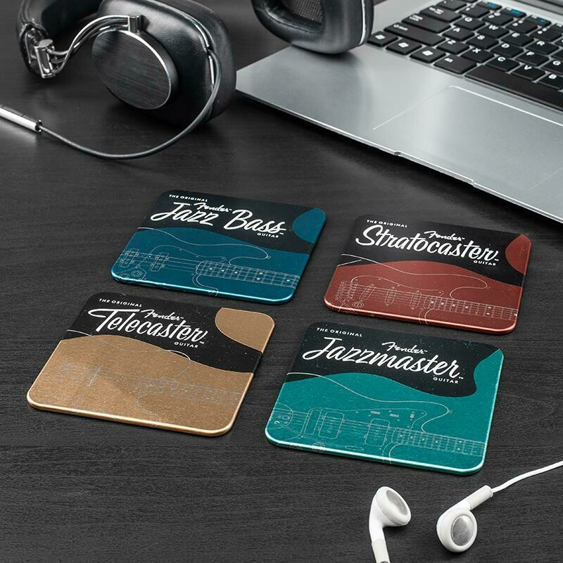Paladone Fender Metal Coasters