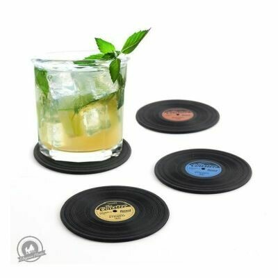 Silicone Record Coasters