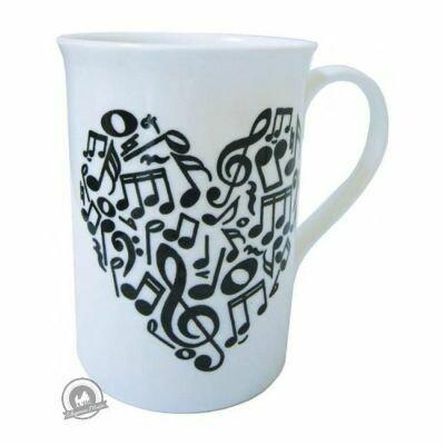 Mug - Heart Of Notes