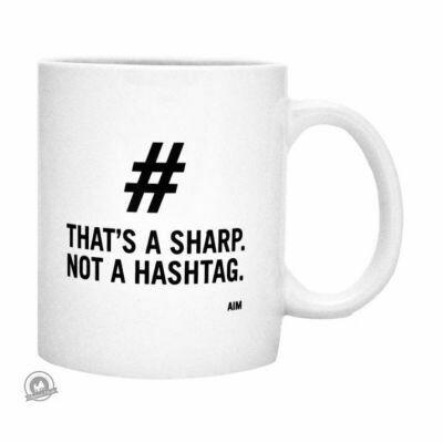 Mug - That's A Sharp Not A Hashtag