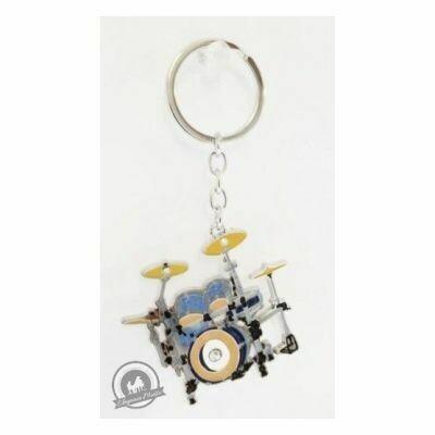 Little Snoring Keyring: Drum Kit