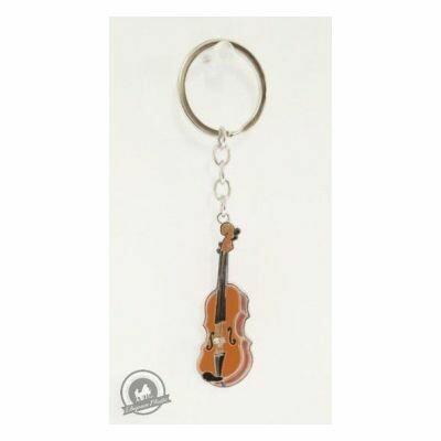 Little Snoring Keyring: Violin