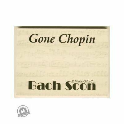 Sticky Pad Gone Chopin