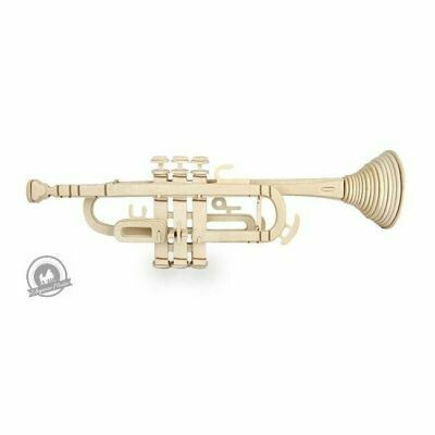 Quay Woodcraft Construction Kit Trumpet