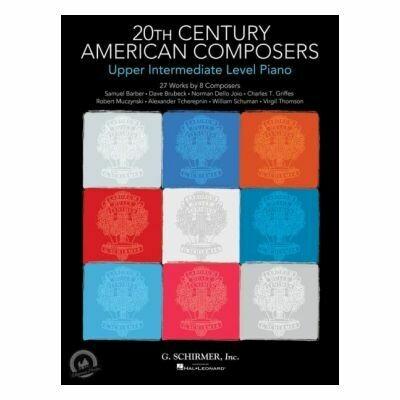20th Century American Composers: Upper Intermediate Level Piano