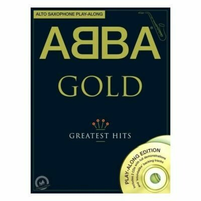 Abba Gold Alto Saxophone (with Online Audio)