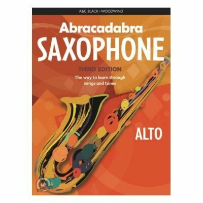 Abracadabra Saxophone (Book/CD)